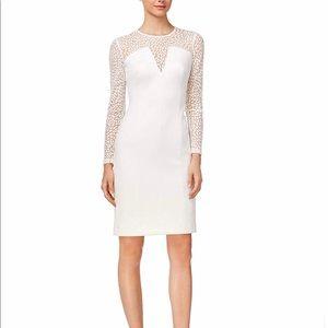 Calvin Klein Women's Illusion Petal Scuba Dress